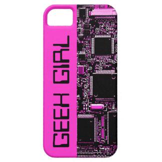 """Circuit Pink """"Geek Girl"""" iPhone 5 case pink"""