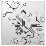 Circuit Printed Napkin