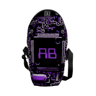 Circuit Purple 2 monogram mini zero messenger bag