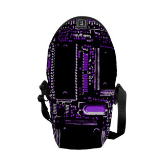 Circuit Purple mini zero messenger bag
