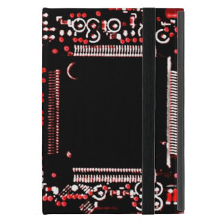 Circuit Red 2 Powis iCase iPad Mini case