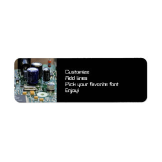 Circuit return label return address label
