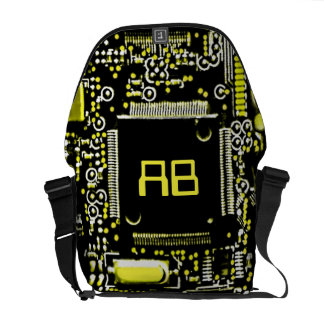 Circuit Yellow 2 monogram medium messenger bag