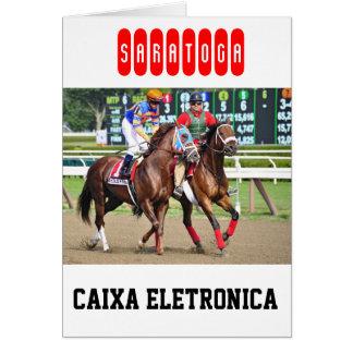 Circuito de carreras de Caixa Eletronica- Saratoga Tarjetón