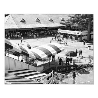 Circuito de carreras de Saratoga Impresión Fotográfica