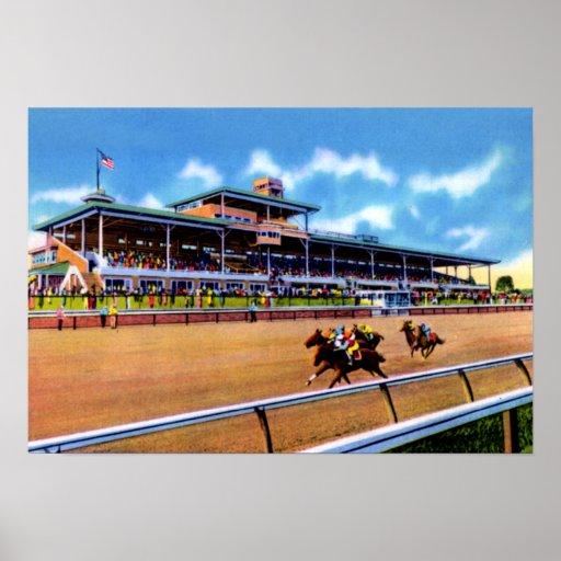 Circuito de carreras del parque de Wilmington Dela Impresiones