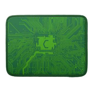 circuito de ordenador de la placa madre del funda macbook pro
