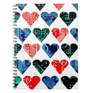 circuito del amor, sistema de colores 1 libro de apuntes con espiral