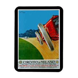 Circuito Di Milano Rectangular Photo Magnet