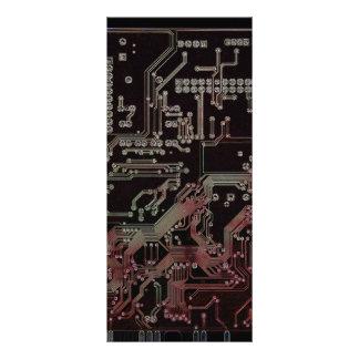 circuito electrónico tarjeta publicitaria a todo color