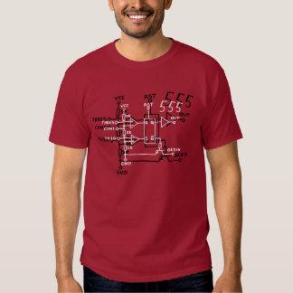 Circuito esquemático del microprocesador del playeras