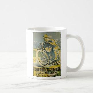 Circuito Motociclistico-1924 Taza De Café