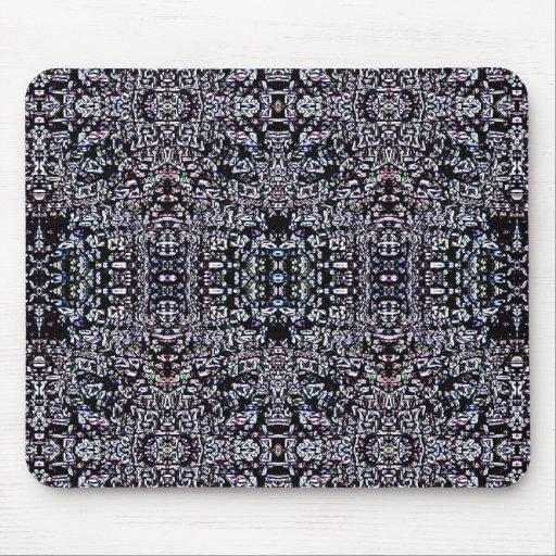 Circuitos 4 del negro alfombrillas de ratones