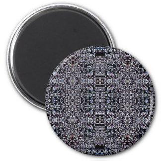 Circuitos 5 del negro imán redondo 5 cm
