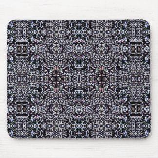 Circuitos 6 del negro mouse pad
