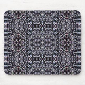 Circuitos 9 del negro mouse pad