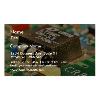 Circuitos de microprocesadores de ordenadores Cr8 Tarjeta De Negocio