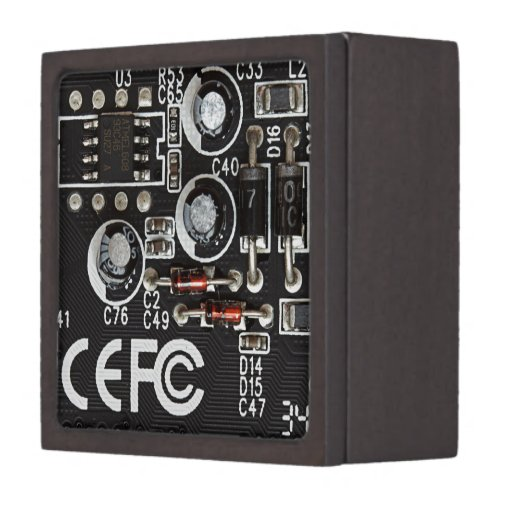 Circuitos integrados caja de joyas de calidad