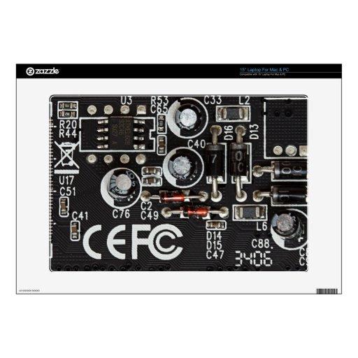 Circuitos integrados calcomanía para 38,1cm portátil