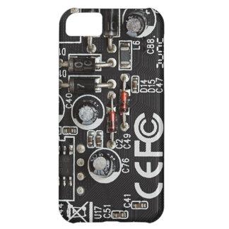 Circuitos integrados funda para iPhone 5C