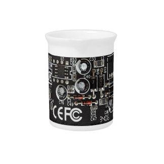 Circuitos integrados jarras para bebida