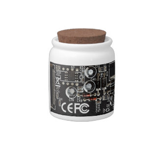Circuitos integrados platos para caramelos