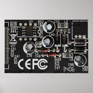 Circuitos integrados póster
