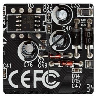 Circuitos integrados reloj cuadrado