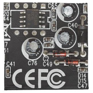 Circuitos integrados servilletas imprimidas