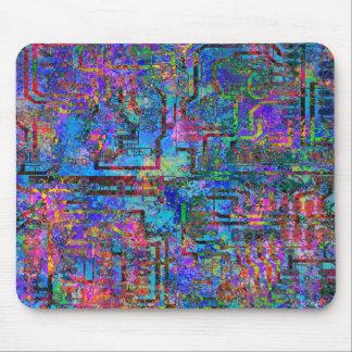 Circuitpaint Mouse Pad
