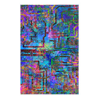 Circuitpaint Customized Stationery