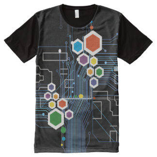 Circuitry All-Over-Print Shirt