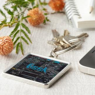 Circuitry Keychain