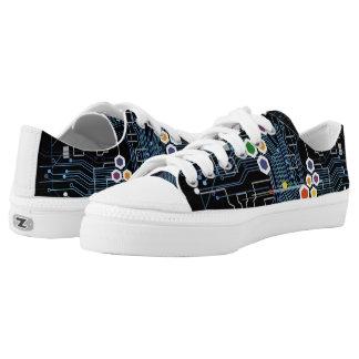 Circuitry Low-Top Sneakers