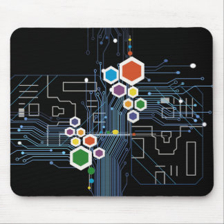 Circuitry Mouse Pad