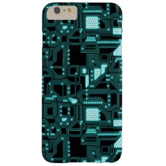 Circuitry Pattern Barely There iPhone 6 Plus Case