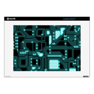 Circuitry Pattern Decal For Laptop