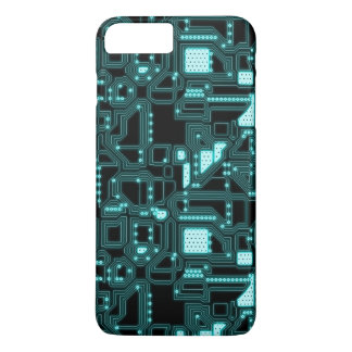 Circuitry Pattern iPhone 8 Plus/7 Plus Case