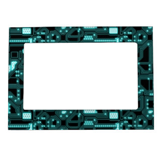 Circuitry Pattern Magnetic Frame