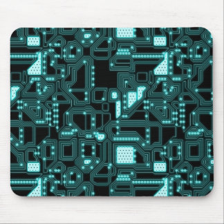 Circuitry Pattern Mouse Pad