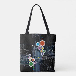 Circuitry Tote Bag
