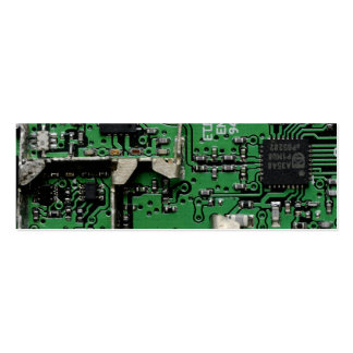 Circuits Double-Sided Mini Business Cards (Pack Of 20)