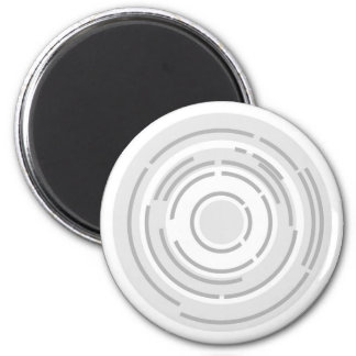 Circular Abstract Background Magnet