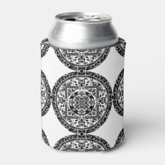 Circular beautiful  pattern of traditional motifs can cooler