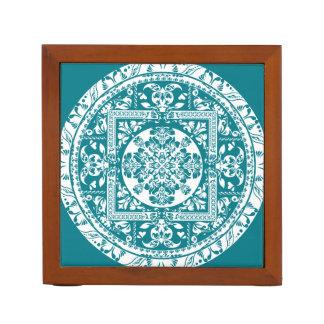 Circular beautiful pattern of traditional motifs pencil holder