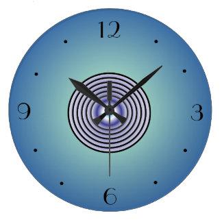 Circular Centre Feature>Wall Clock