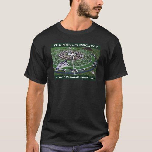 Circular City  VTOL Aircraft T_Shirt
