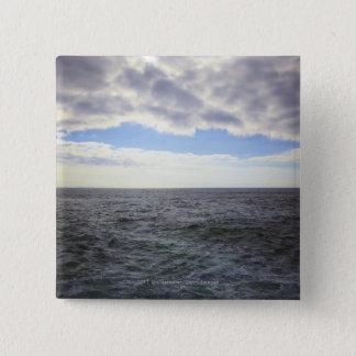 Circular Clouds over the Atlantic Ocean Button