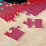 Circular Colorburst with Cheerleader Puzzle