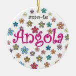 Circular del cuello - amo-te Angola - Flores Ornamentos Para Reyes Magos